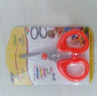 "Steel Blade Multipurpose Stationery Scissor 5"" GOOD MAKE Per Pc"