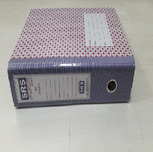 Box File Sas 30015 Cardboard Index With Kangaroo Clip F/S SAS Per Pc