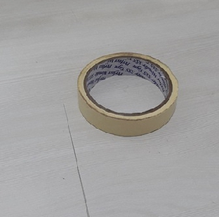 """Double Sided Foam Tape Yellow Width 25 Mm 1"""" DEER Per Pc"""