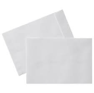 A-4 Plain White Envelope, size 10 X 12