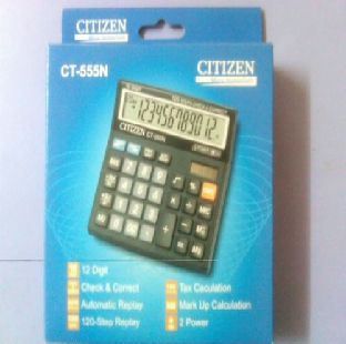 Calculator Citizen CT 555 12 Digit