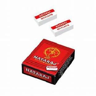 Eraser Natraj Plasto 621