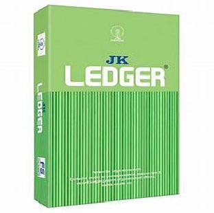Green Ledger Paper FS 500 Sheet