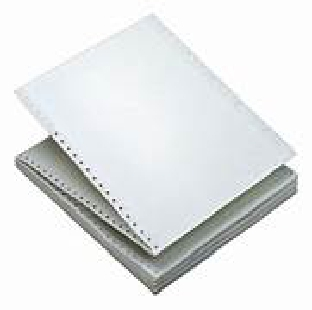 Paper Computer Paper II part 70 GSM 10X12 (1000 sheets) Regional