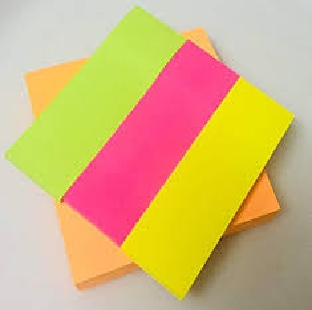 Post IT 1X3 Prompt Assorted Colours Size REGIONAL