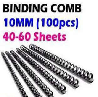 Regional Binding Comb Black 10mm