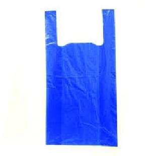 "Regional Blue Plastic Carry Bag Big 27""*30"" 20pcs"