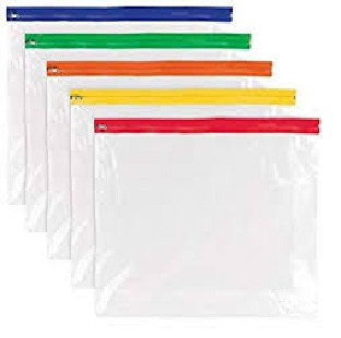 Regional Plastic Zip Folder