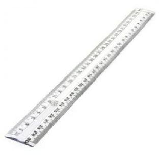 Scale 12 inches Plastic Prime/Camlin