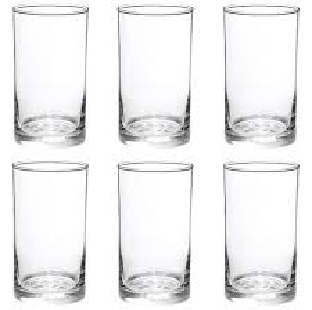 Woter Glasse Set Of 6 Pic REGIONAL