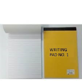Writing Pads No.1 Ruled 40 Sheets Small REGIONAL