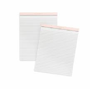 WRITING PAD 1/8, CUT, 40 PAGES PER PC
