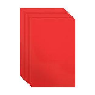 CHART PAPER RED PER SHEET
