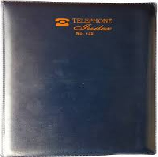 TELEPHONE INDEX DIARY NO-7 144 PAGES
