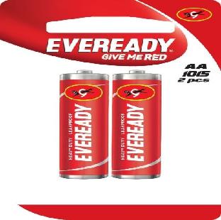 1015 Eveready Heavy Duty Battery, Aa/R06, 1.5 V