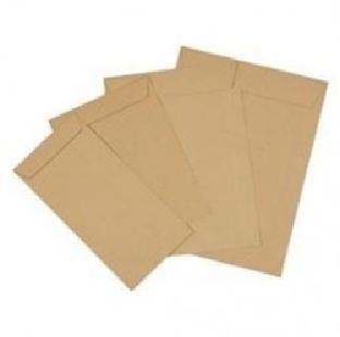 """Brown Paper Envelopes, 70 Gsm, 12"""" X 10"""", 50 Pc/Pk"""