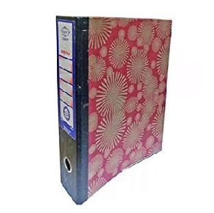 Canvas Box File With Aluminium Clip F/S