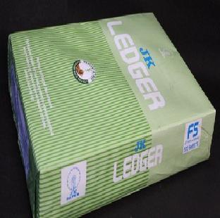 Ledger Paper, 80 GSM, FS, 500 Sheets/Ream, JK
