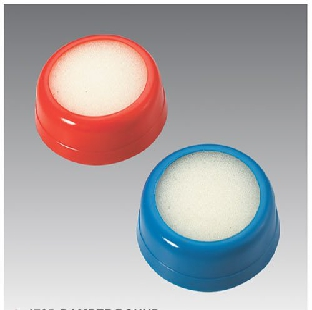 Plastic Damper; Round Shape; Size Medium