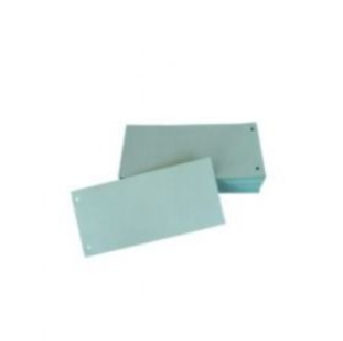 Pre-Punched Cardboard File Div ider, 1/8, 100 Pc/Pack
