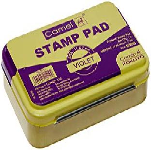 Stamp Pad No 2, Voilet, Medium, Camlin