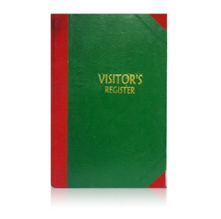 Visitor Register, F/S, 55 GSM, 300 Pages