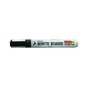 White Board Marker, Plastic Body, Black, Camlin