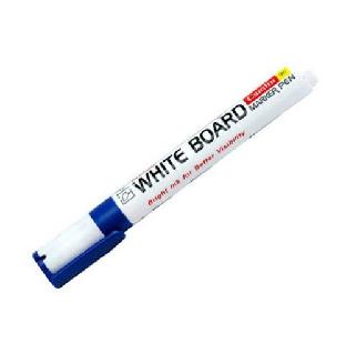 White Board Marker, Plastic Body, Blue, Camlin
