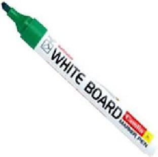 White Board Marker, Plastic Body, Green, Camlin