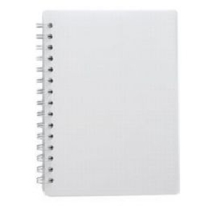 Wiro Notebook A4, 100Pgs, 60Gsm - 1/4