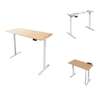Height Adjustable Table with Dual Motor System