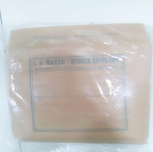 Bubble Envelope For Cd Packing Sf80003 148x140mm REGIONAL Per Pkt