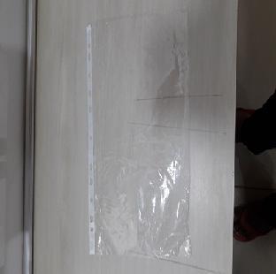 Protector Sheet Transparent PVC D Gauge A4 100 GOOD MAKE Per Pkt