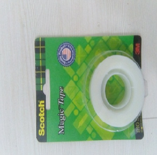 Scotch Magic Tape 810 19 mm x 33 mtrs 3M Per Pc